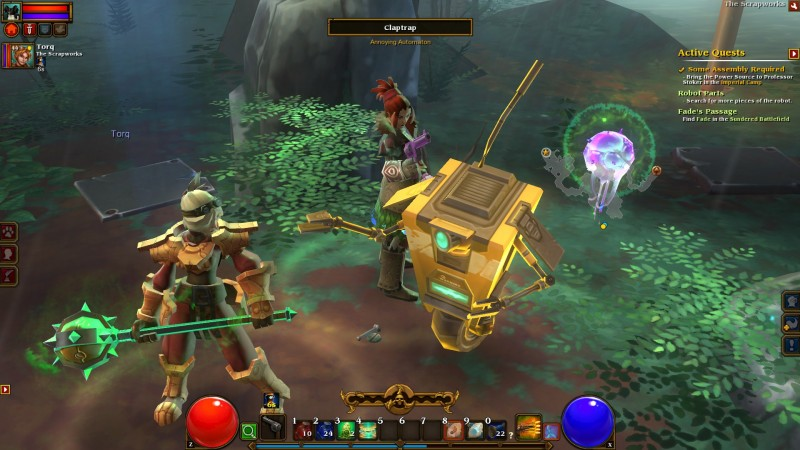 Torchlight II (Steam region free; ROW account)