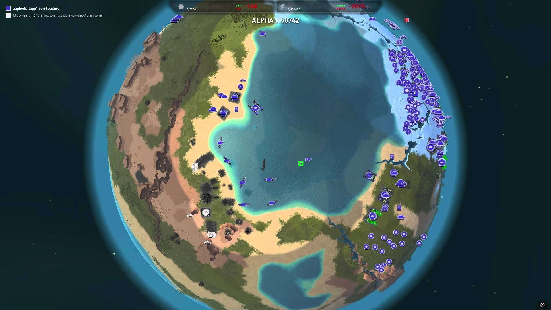 Planetary Annihilation (RU/CIS activation; Steam gift)