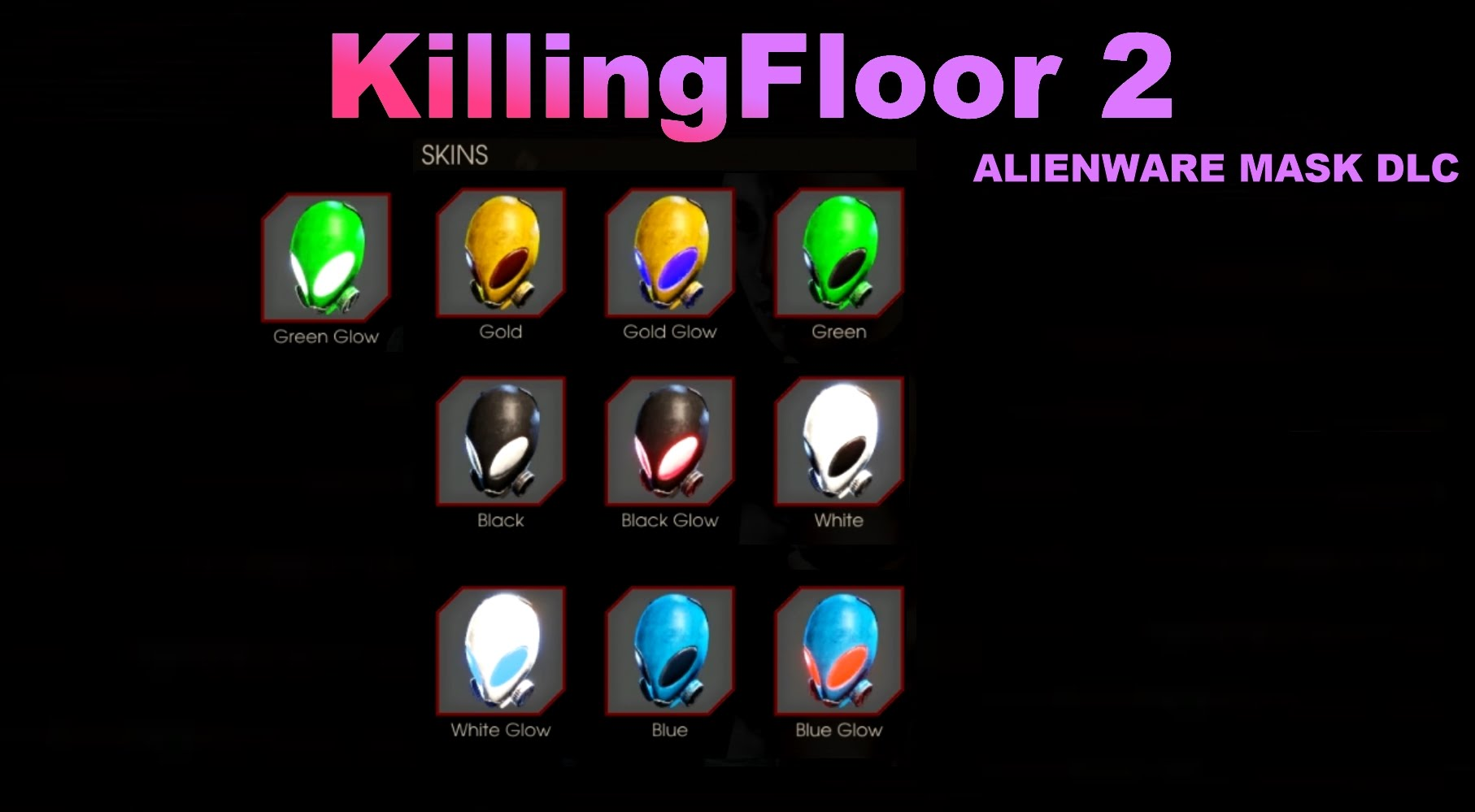Killing Floor 2 - Alienware Mask DLC Steam Key (ключ)