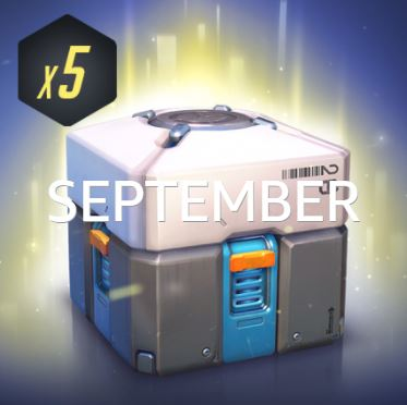 Overwatch Loot Box x5 (Twitch Prime) Key (SEPTEMBER)