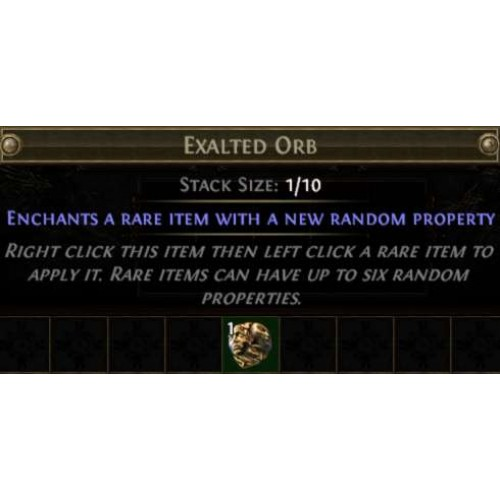 Path of Exile Exalted Orb - All servers [KingPeon]