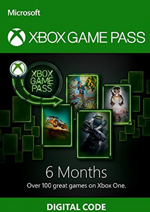Xbox game pass 6 month  (Xbox One/ Win 10) 2019