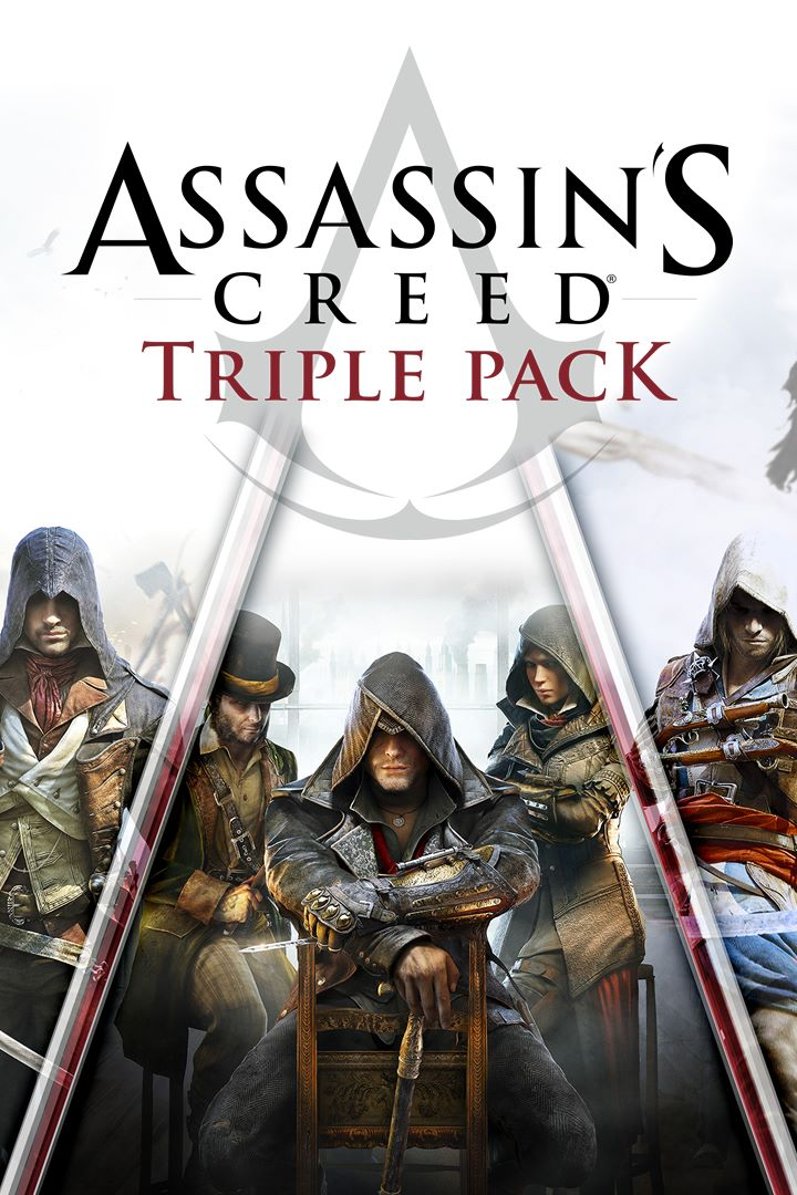 Assassins Creed Black Flag,Unity,Syndicate Xbox One🔑