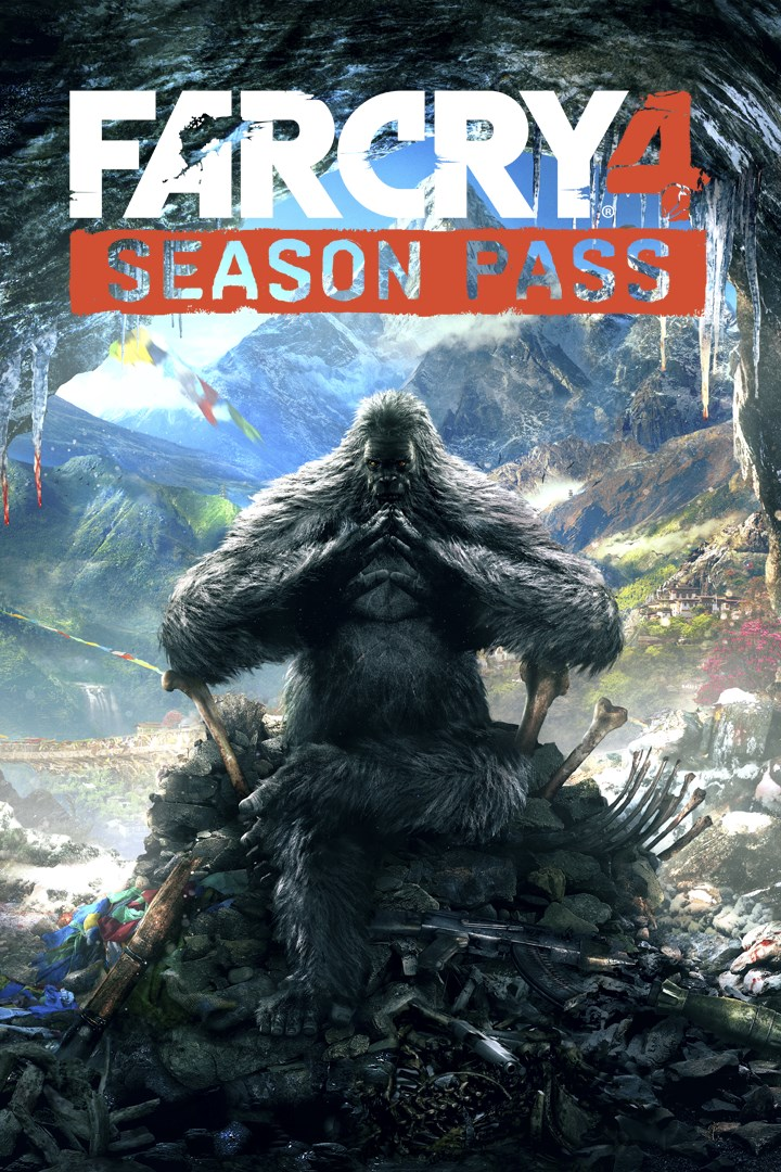 FAR CRY 4 SEASON PASS Xbox one key 🔑