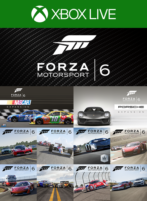 Forza Motorsport 6 Complete Add-Ons Collection Xbox one