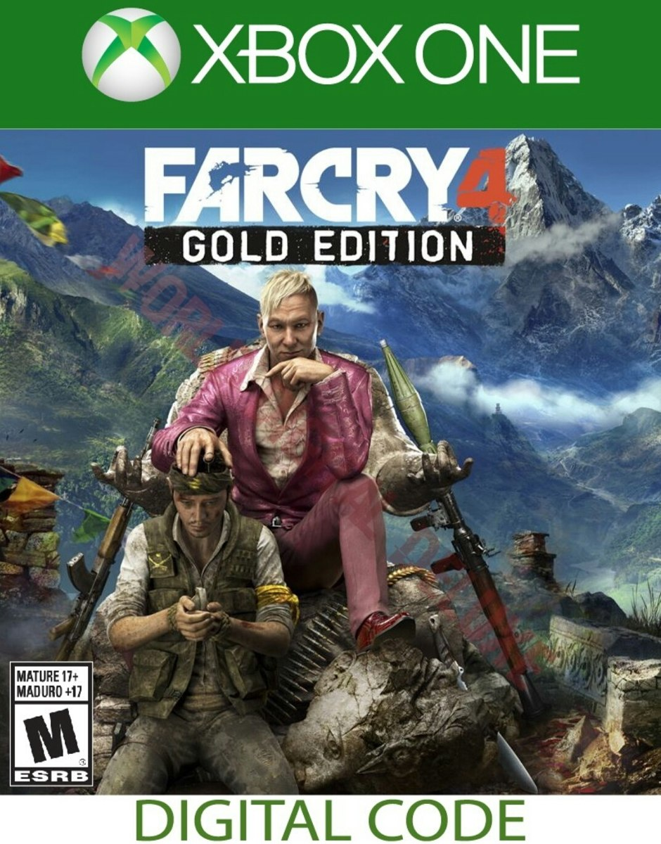 ✅FAR CRY 4 GOLD EDITION Xbox one 🔑