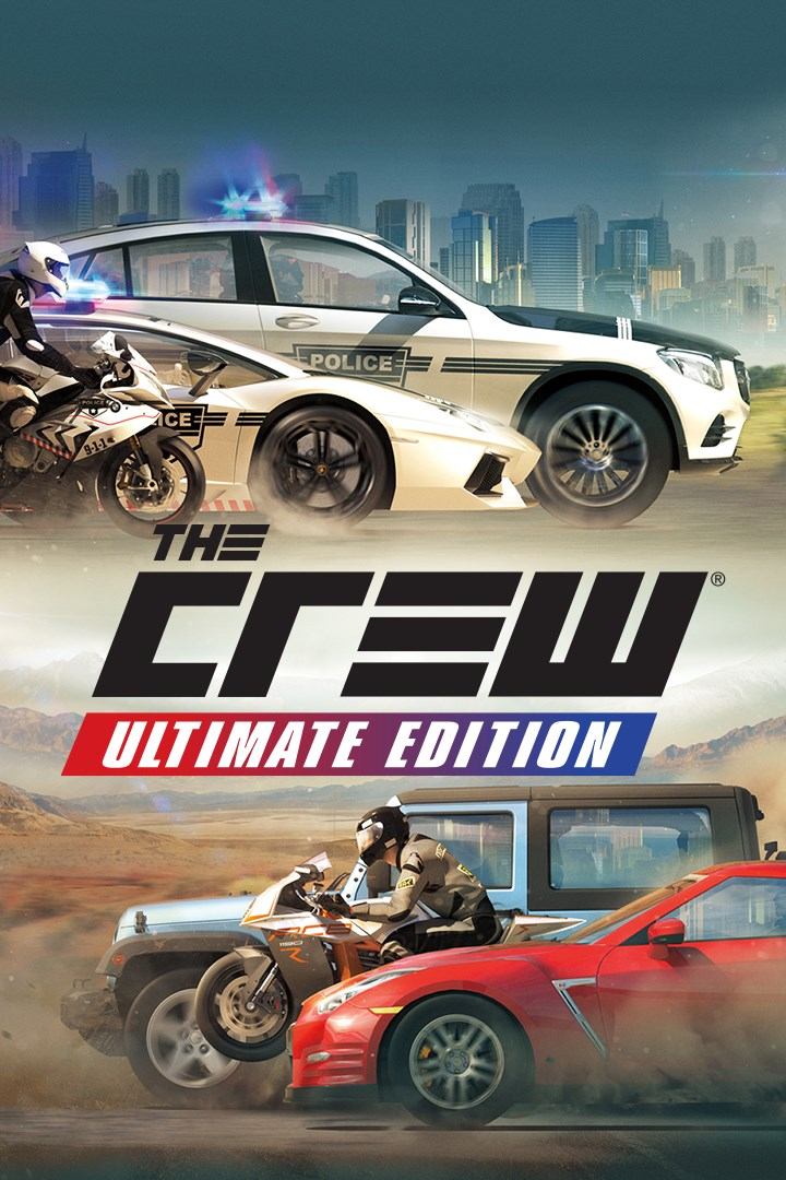 The Crew Ultimate Edition Xbox one key