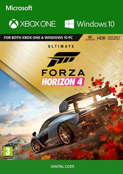 ✅Forza Horizon 4 Ultimate Edition Xbox one|Win10 PC🔑