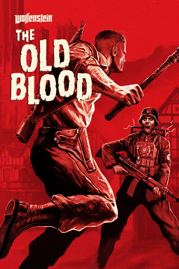 Wolfenstein The Old Blood Xbox one 🔑