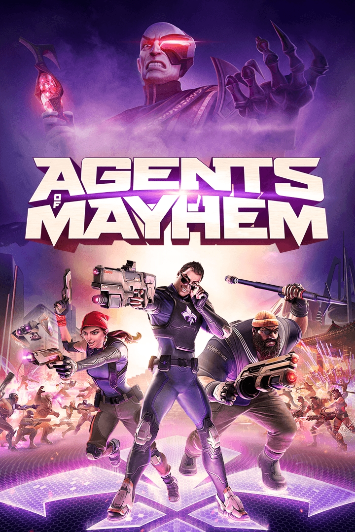Agents of Mayhem Xbox One ключ 🔑