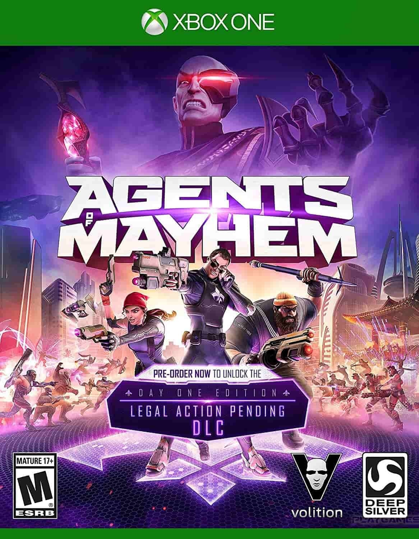 ✅Agents of Mayhem Xbox One 🔑