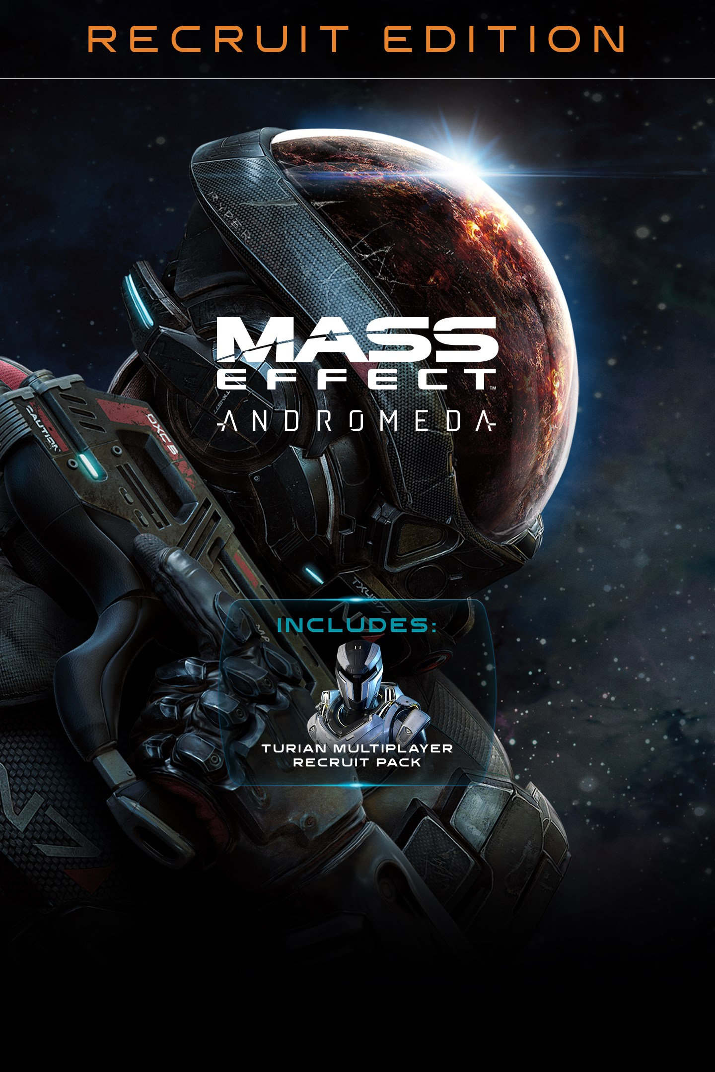 Mass Effect Andromeda Standard recruit Xbox One key 🔑