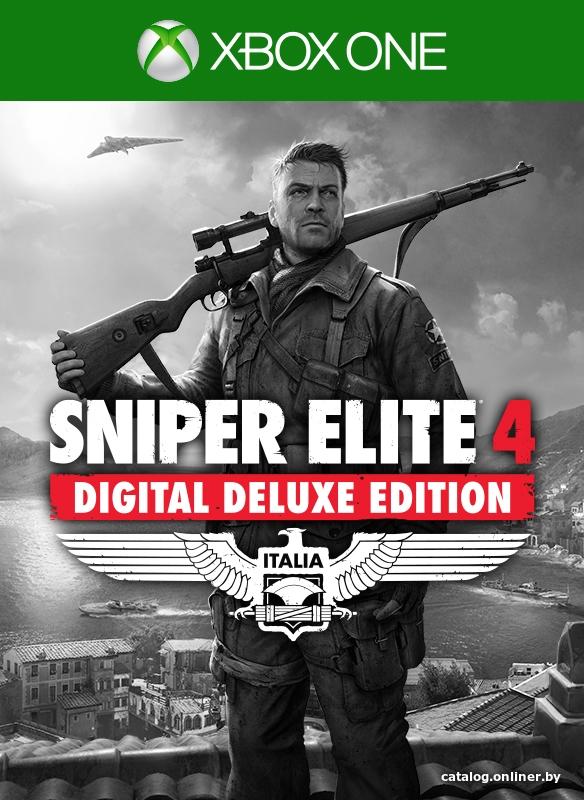 ✅ Sniper Elite 4 Digital Deluxe Edition Xbox one 🔑