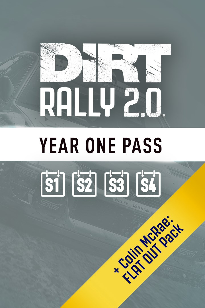 DiRT Rally 2.0 Year One Pass DLC Xbox one key 🔑