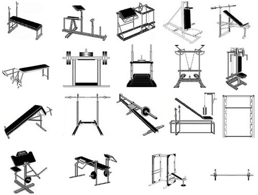 Gym hands - Plans and drawings