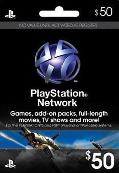 Playstation Network (PSN) $50 - USA + СКИДКИ