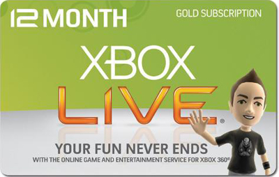 Xbox LIVE 12 Month Gold WORLDWIDE (all countries) + DIS