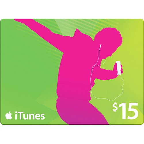 iTunes Gift Card $ 15 - USA + Discounts