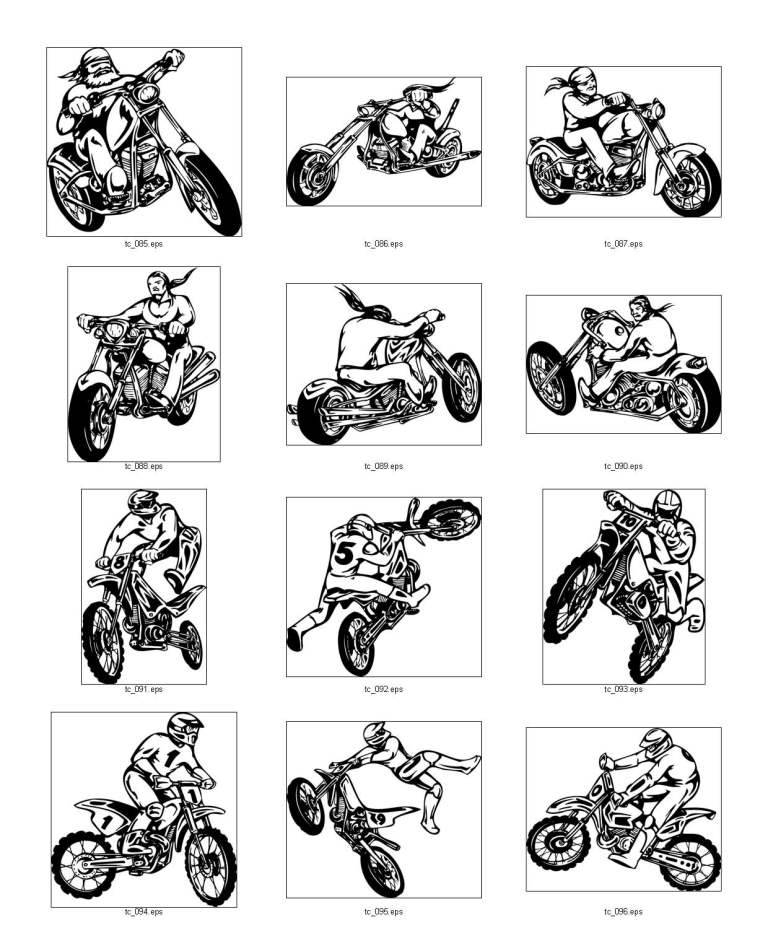 Motorcyclists, part 3