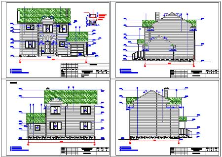 2-storey 1-for apartment house with parking