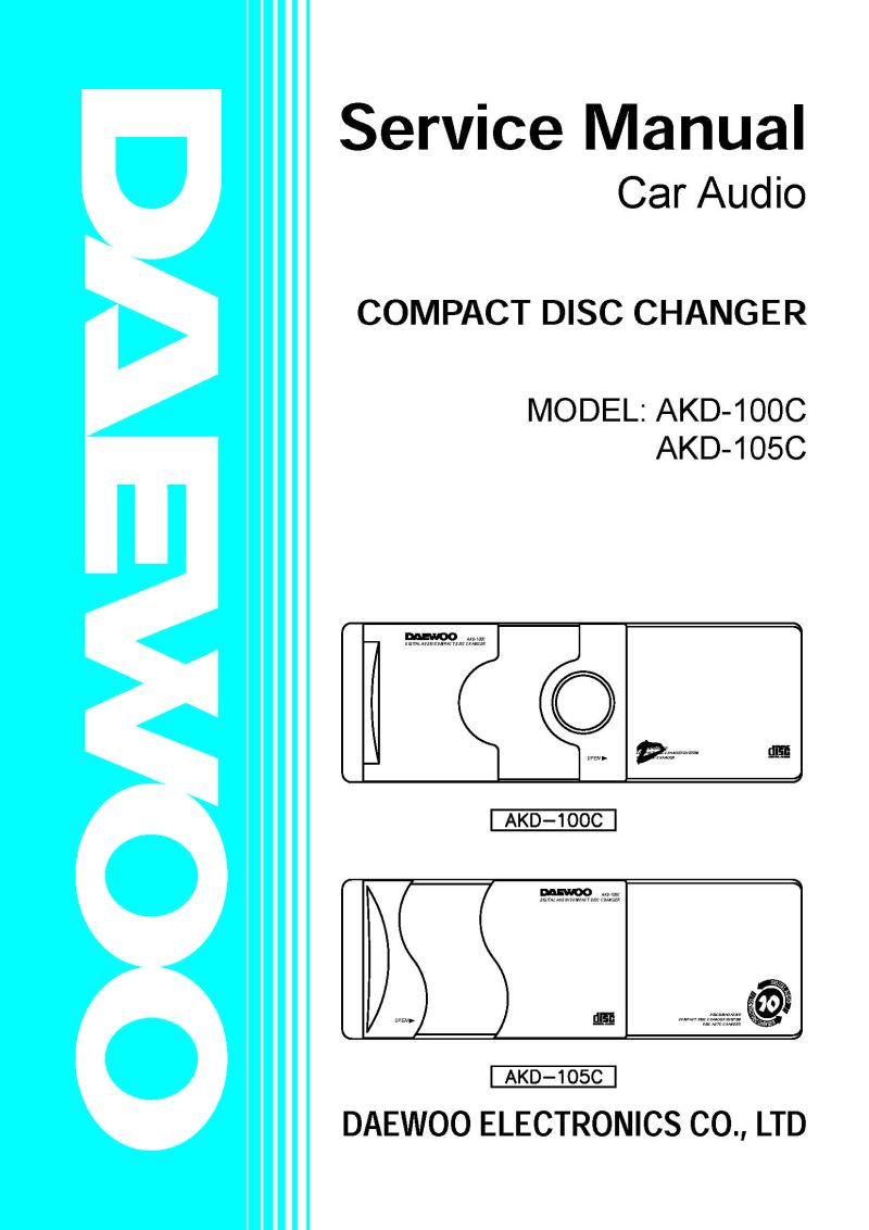 Car audio DEAWOO AKD10