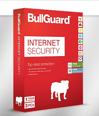 BullGuard Internet Security 2017 180 дней / 3 ПК