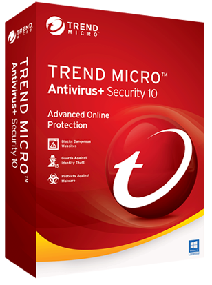 Trend Micro Antivirus + Security 2018 1 year / 1 PC