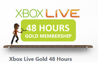 XBOX LIVE GOLD 48 HOURS (2 DAYS) (WORLDWIDE) + DISCOUNT
