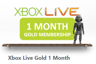 XBOX LIVE GOLD - 1 MONTH - REGION FREE + BIG DISCOUNT