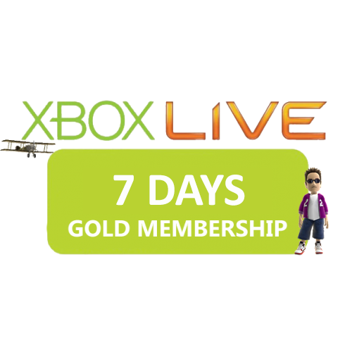 XBOX LIVE GOLD 7 DAYS (WORLDWIDE) + BIG DISCOUNT