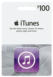 iTunes Gift Card 100$ (USA) код - СКИДКИ (BIG DISCOUNT)
