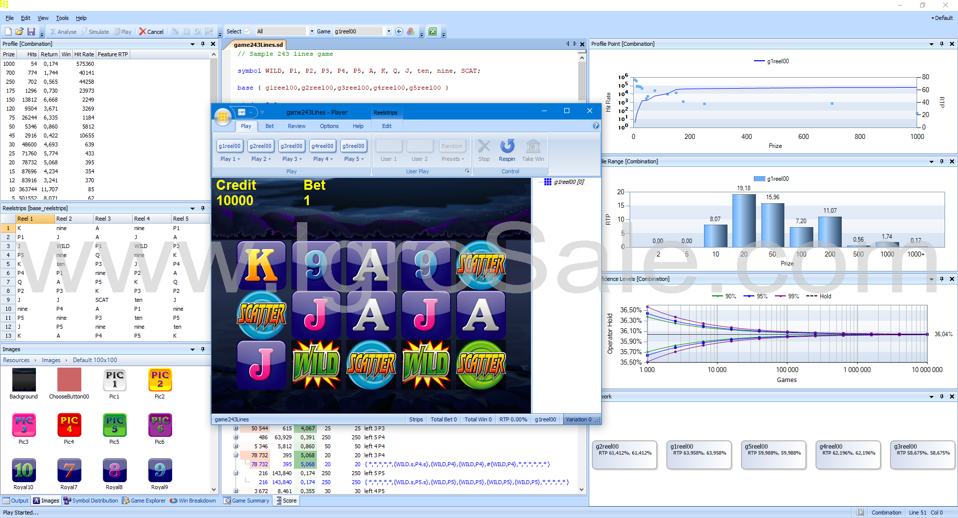 Game Design Automation Slot Designer Professional Software For Gaming Machines