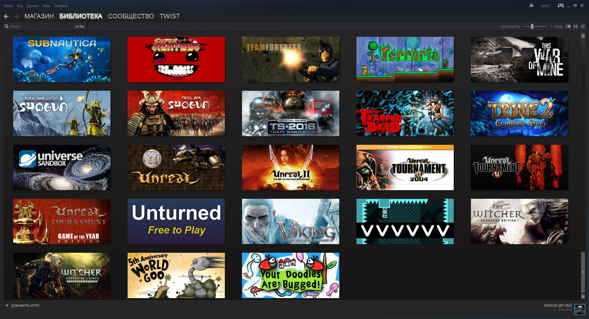 Steam-account with 140+ games