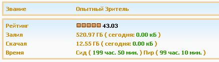 ACCOUNT KINOZAL.TV (KINOZAL.TV) 500GB