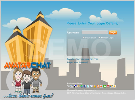 Avatar Chat Flash Chat new generation