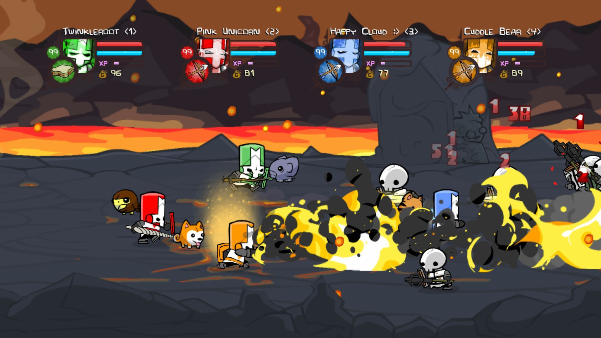 Castle Crashers (Steam Gift, RoW / Region Free)