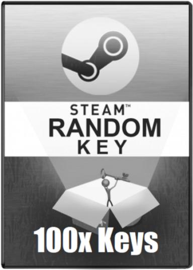 100 x LOTTERY Steam key 350+ games (Region Free) 2019