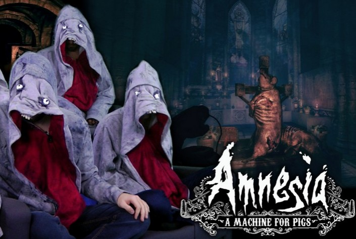 Amnesia: A Machine For Pigs (Steam/Region Free) + БОНУС
