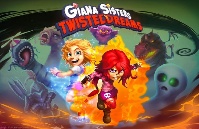 Giana Sisters: Twisted Dreams (Steam/Region Free)+БОНУС