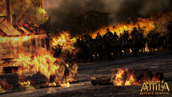 Total War: ATTILA - Blood & Burning STEAM Key RU+CIS