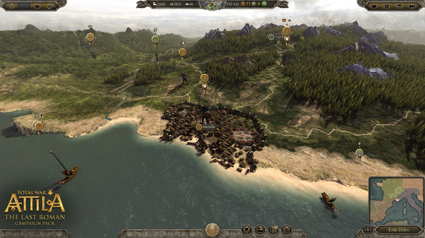 Total War: ATTILA - The Last Roman Campaign Pack STEAM