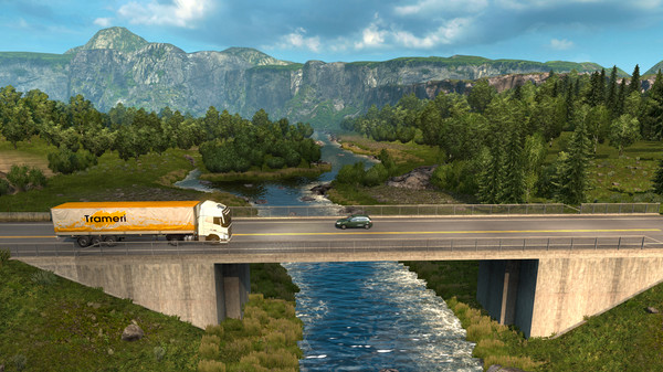 Euro Truck Simulator 2 - Scandinaviа// Steam GIFT RU