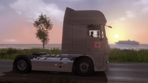 Euro Truck Simulator 2 - Canadian Paint Jobs Pack /RU