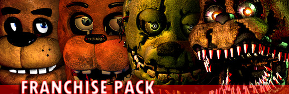 Five Nights at Freddy´s Franchise Pack (1-4) Steam Gift