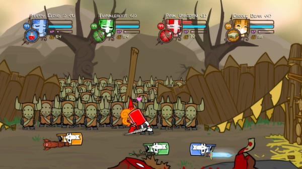 Castle Crashers - Steam GIFT / REGION FREE