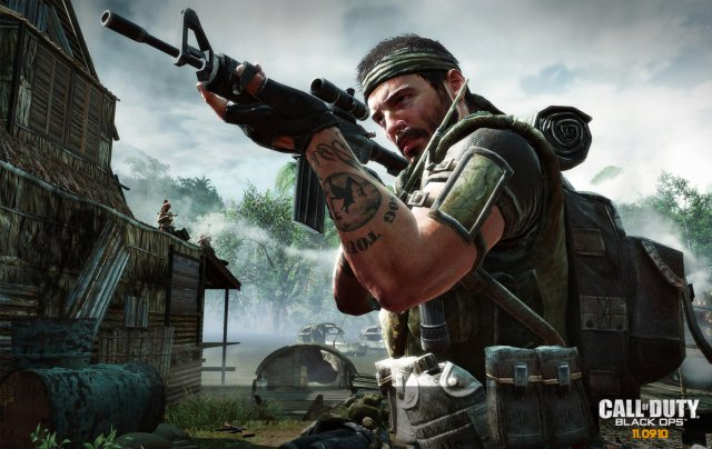 Wallpaper of the game Call of Duty: Black Ops