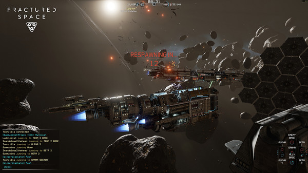 Fractured Space Steam Account