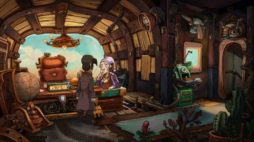 Deponia Steam Gift/RU CIS