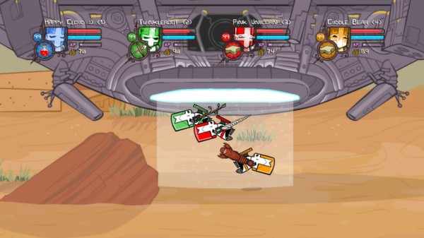 Castle Crashers Steam Gift/RU CIS