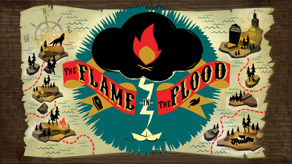 The Flame in the Flood - original Steam key - global